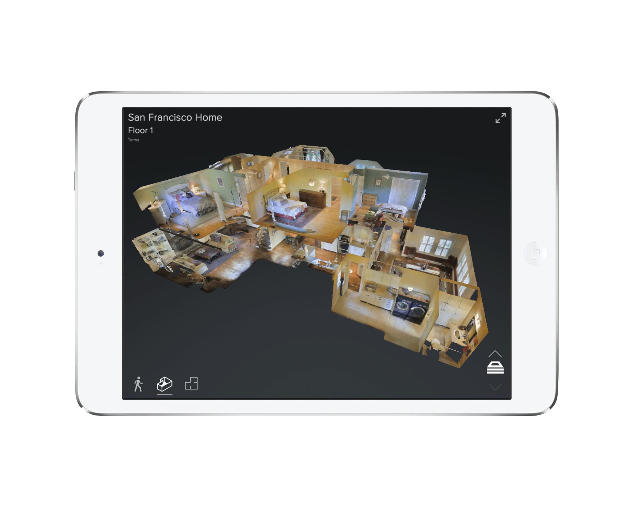 3DShowcase on iPad