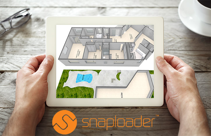 Snaploader 3D floor plans launches on iMAGECLOUD